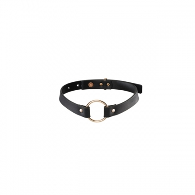 Halsband Maze Single Chocker Black